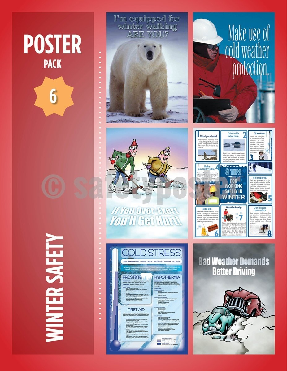 Safety Posters Pack - Winter Poster Packs