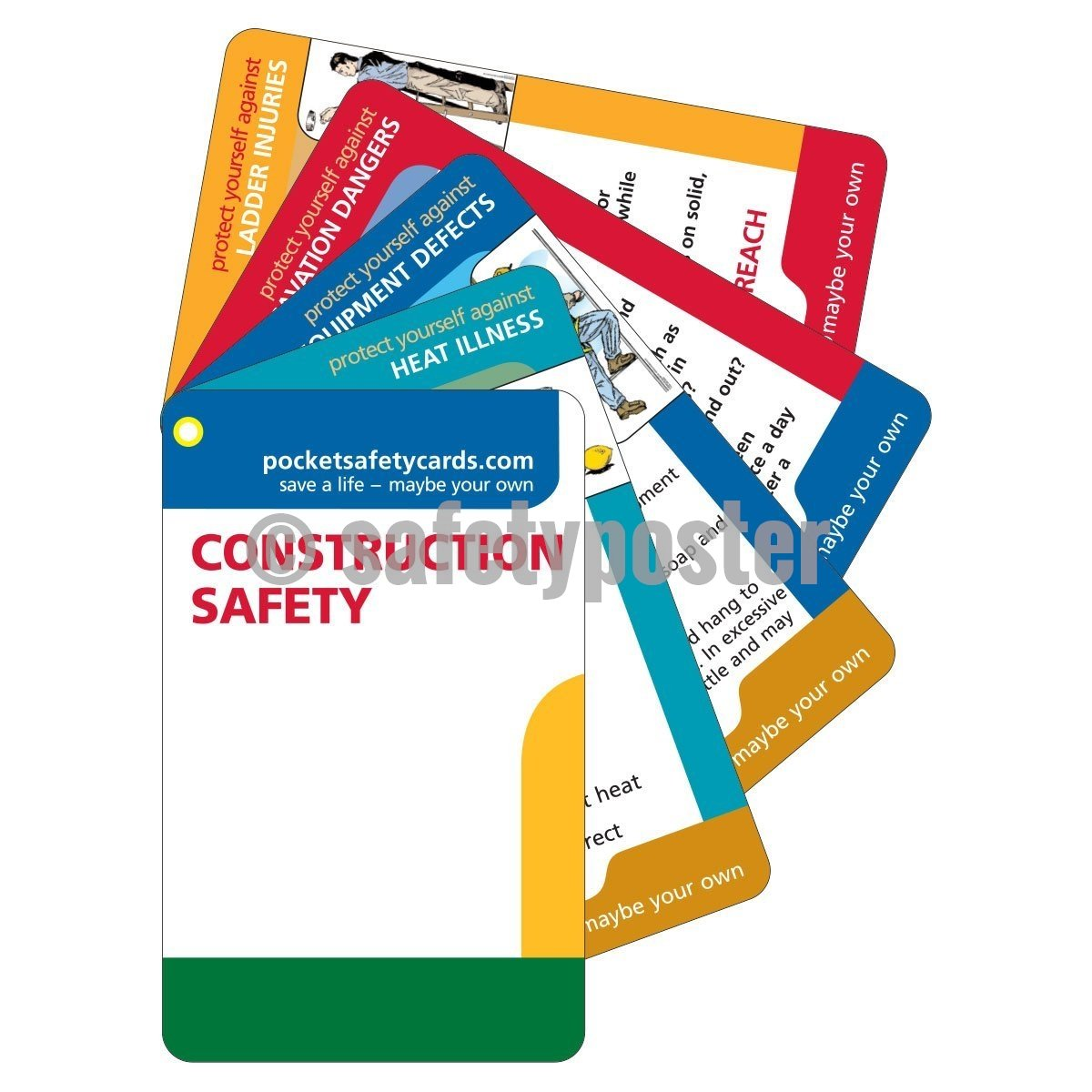 Pocket Cards - Construction Safety - safetyposter.com