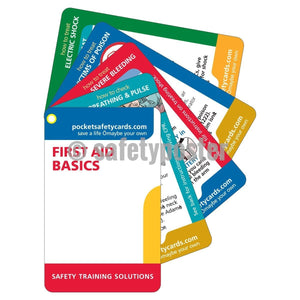 Pocket Cards - Basic First Aid - safetyposter.com