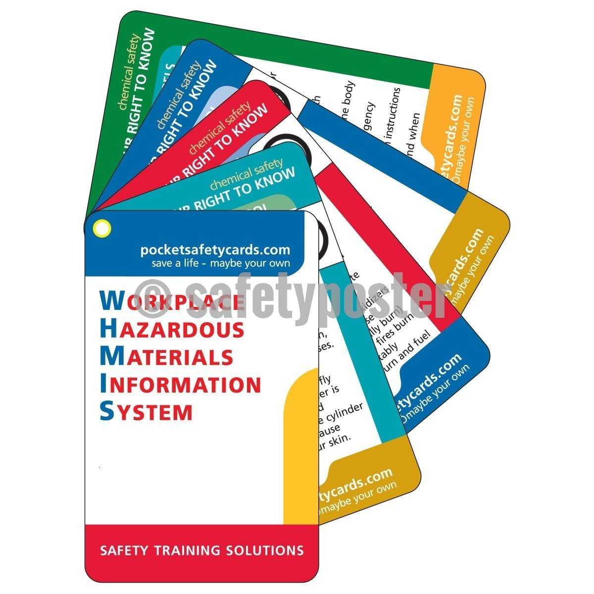 Pocket Cards - WHMIS - safetyposter.com