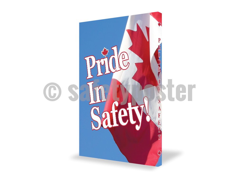 Pride In Safety! - Visual Edge Sign 17 X 22 / 1
