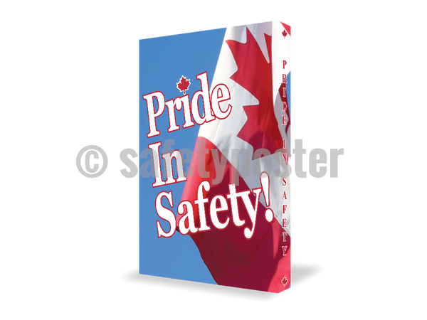 Pride In Safety! - Visual Edge Sign 17 X 22 / 2
