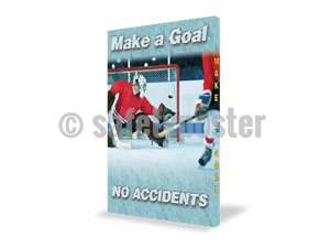 Make A Goal No Accidents - Visual Edge Sign 17 X 22 / 1