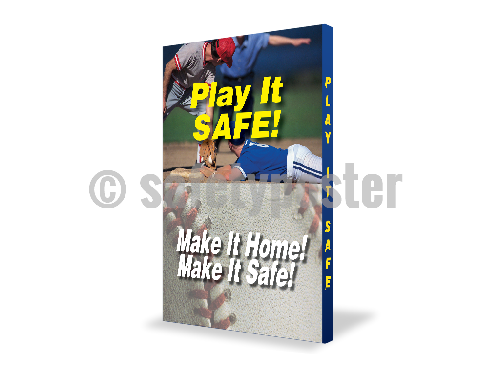Play It Safe Make Home - Visual Edge Sign 17 X 22 / 1