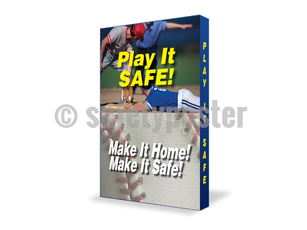 Play It Safe Make Home - Visual Edge Sign 17 X 22 / 2