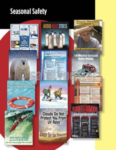 Safety Posters Pack - Seasonal Poster Packs