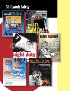 Safety Posters Pack - Shiftwork Poster Packs