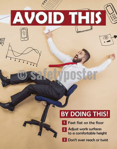 Avoid This... - Safety Poster Office General