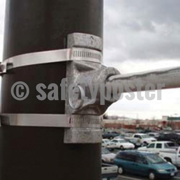 Stainless Steel Mounting Straps Banner Accessories