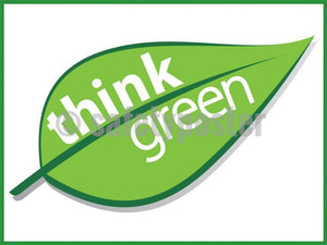 Think Green - Safety Poster Chemical