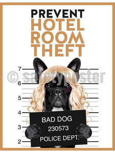 Prevent Hotel Room Theft - Safety Poster