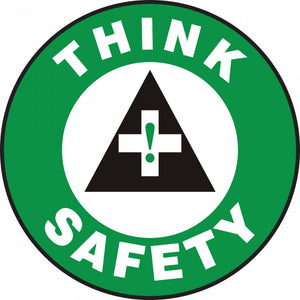 Think Safety - Floor Sign