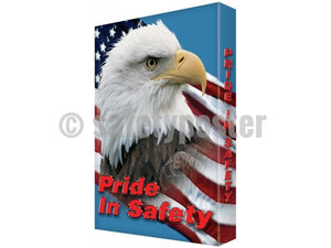 Pride In Safety (Eagle) - Visual Edge Sign