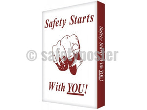 Safety Starts With You! - Visual Edge Sign