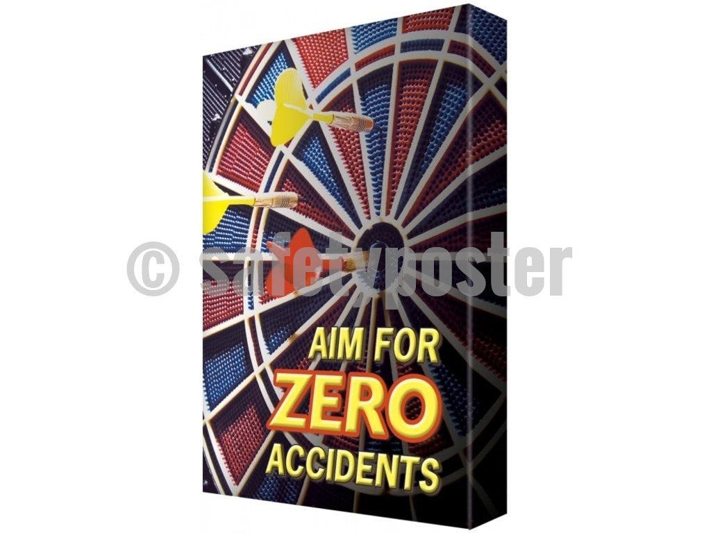 Aim For Zero Accidents - Visual Edge Sign