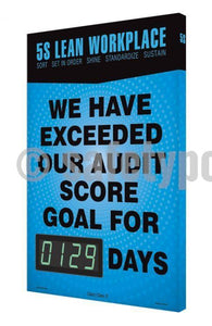 5S Lean Workplace Exceeded Audit Goal For _ Days - Digi-Day 3 Digi-Day® Electronic Safety