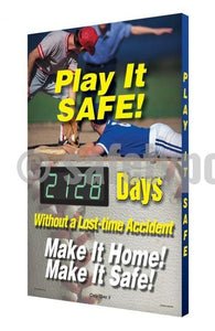 Play It Safe _ Days Without A Lost-Time Accident - Digi-Day 3 Digi-Day® Electronic Safety