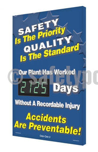 Safety is the Priority, Quality is the Standard _ Days Without Injury - Digi-Day-3