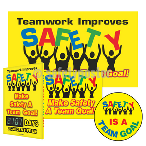 Make Safety A Team Goal - Reinforcement Bundle (Style A)