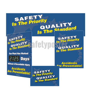 Safety Is The Priority Quality Standard - Reinforcement Bundle (Style A)