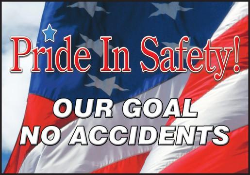 Pride In Safety! (Us) - Floor Sign Adhesive Signs