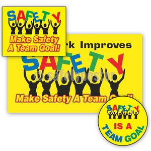 Make Safety A Team Goal - Reinforcement Bundle (Style C)