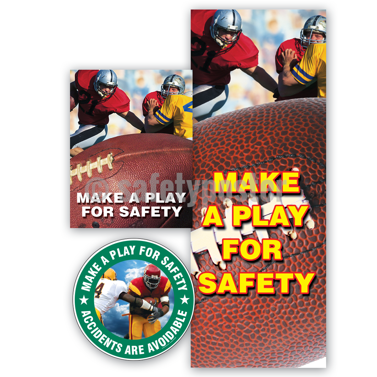 Make A Play For Safety - Reinforcement Bundle (Style C)
