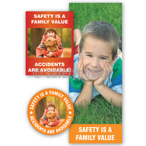 Safety Is A Family Value - Reinforcement Bundle (Style C)