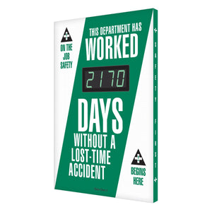 This Department Has Worked _ Days Without A Lost-Time Accident (Updated) Digi-Day 3