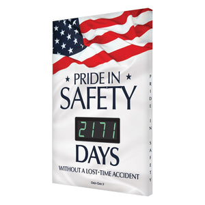 Pride In Safety _ Days Without A Lost-Time Accident (Updated) Digi-Day 3