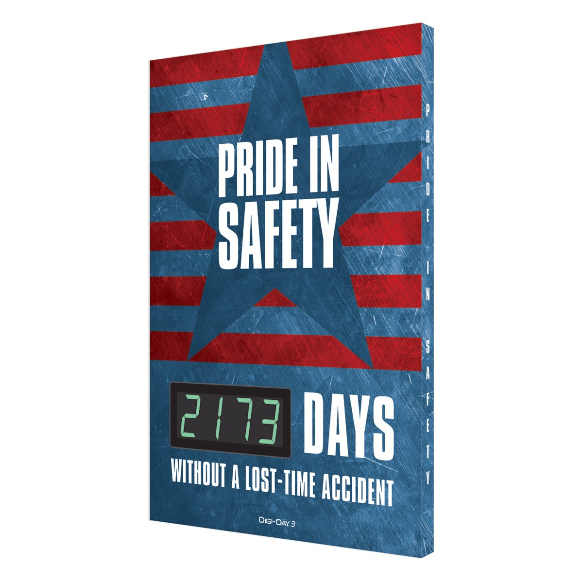 Pride In Safety _ Days Without A Lost-Time Accident (Star) Digi-Day 3