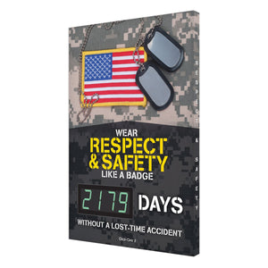 Wear Respect & Safety Like A Badge _ Days Without Lost Time Accident - Digi-Day 3