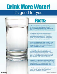 Water Facts - Safety Poster