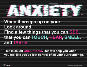 Anxiety Creeps Up - Safety Poster