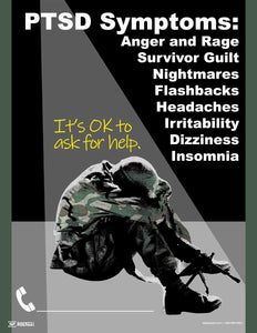PTSD Symptoms - Safety Poster