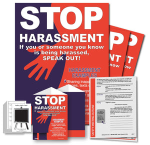 Safety Meeting Kit – STOP Harassment SPEAK OUT