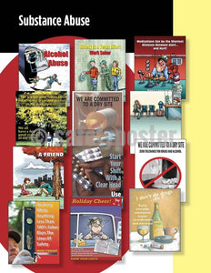 Safety Posters Pack - Substance Abuse Poster Packs