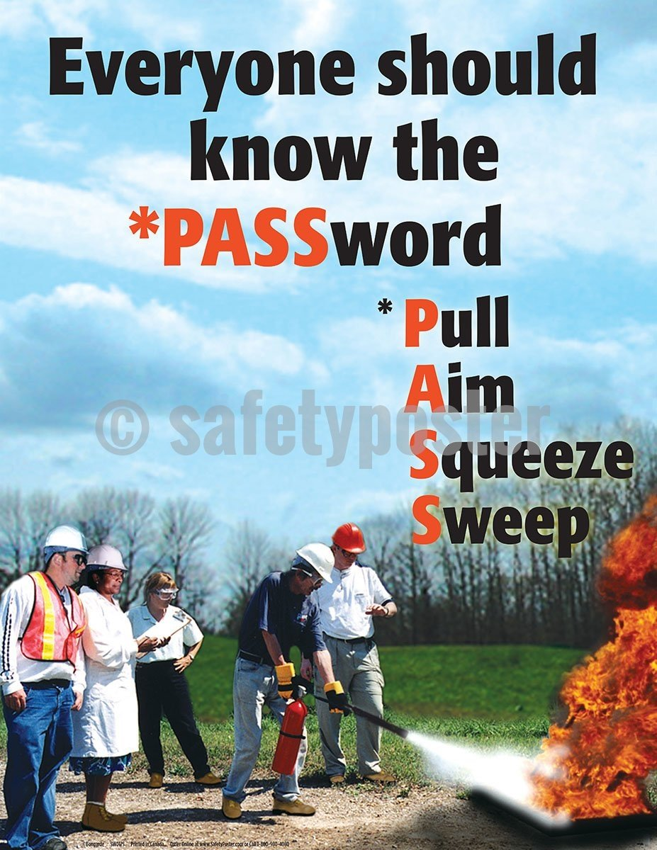 Everyone Should Know The Password - Safety Poster General