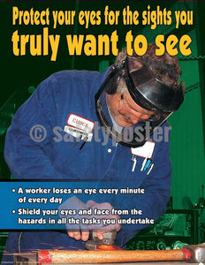 Safety Poster - Protect Your Eyes - safetyposter.com