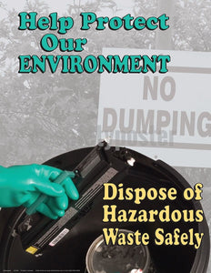 Safety Poster - Help Protect Our Environment - safetyposter.com