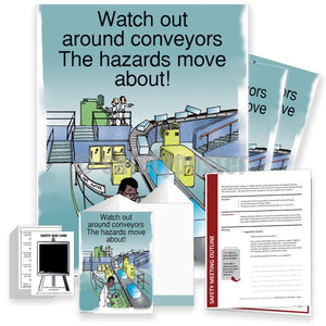 Safety Meeting Kit - Watch Out Around Conveyors Kits