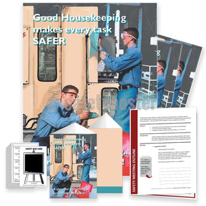 Safety Meeting Kit - Good Housekeeping Makes Every Task Safer Kits