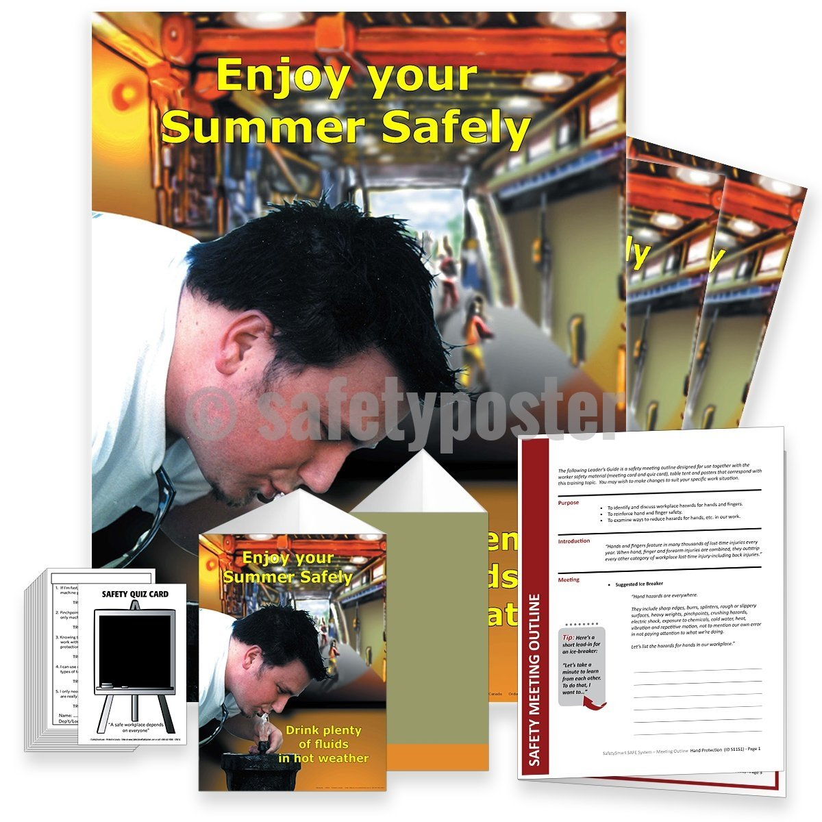 Safety Meeting Kit - Enjoy Your Summer Safely Kits