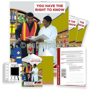 Safety Meeting Kit - You Have The Right To Know Kits