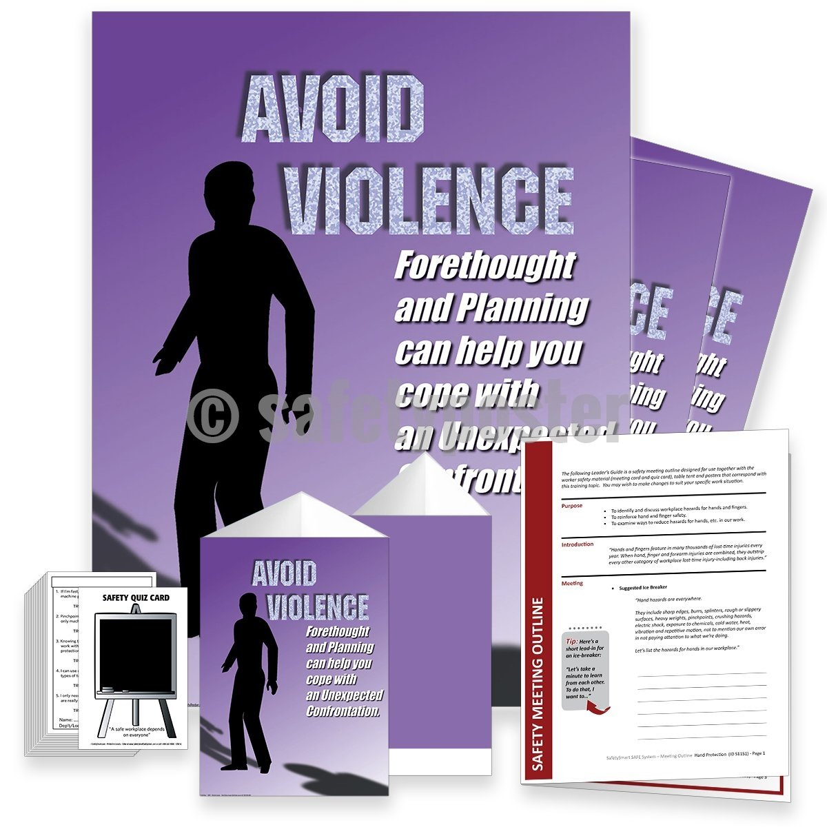 Safety Meeting Kit - Avoid Violence
