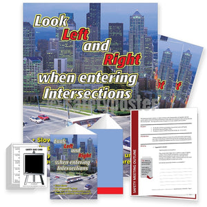 Safety Meeting Kit - Look Right And Left When Entering Intersections Kits