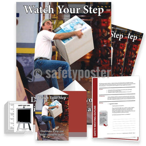 Safety Meeting Kit - Watch Your Step Kits