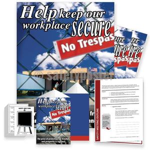 Safety Meeting Kit - Help Keep Our Workplace Secure Kits