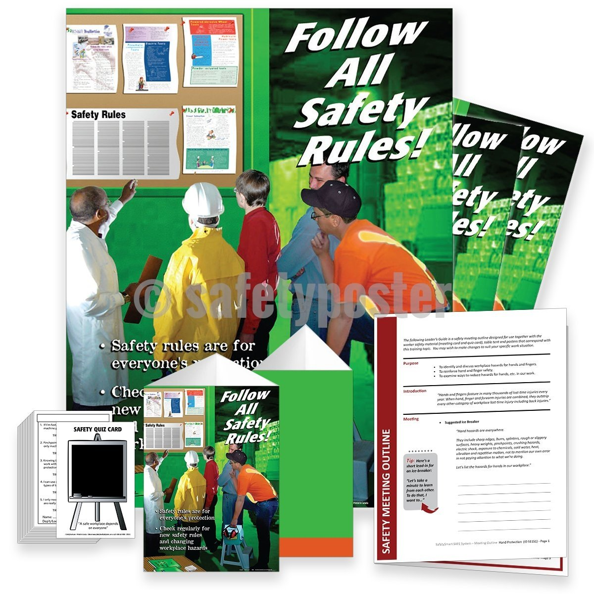 Safety Meeting Kit - Follow All Rules Kits