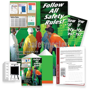 Safety Meeting Kit - Follow All Safety Rules